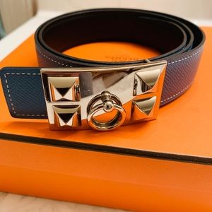 Hermès Collier de Chien Belt